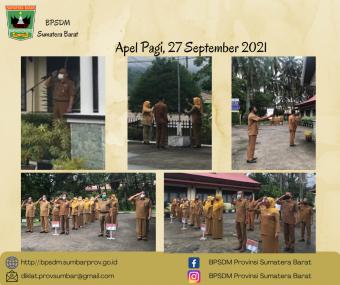 Apel Pagi 27 September 2021